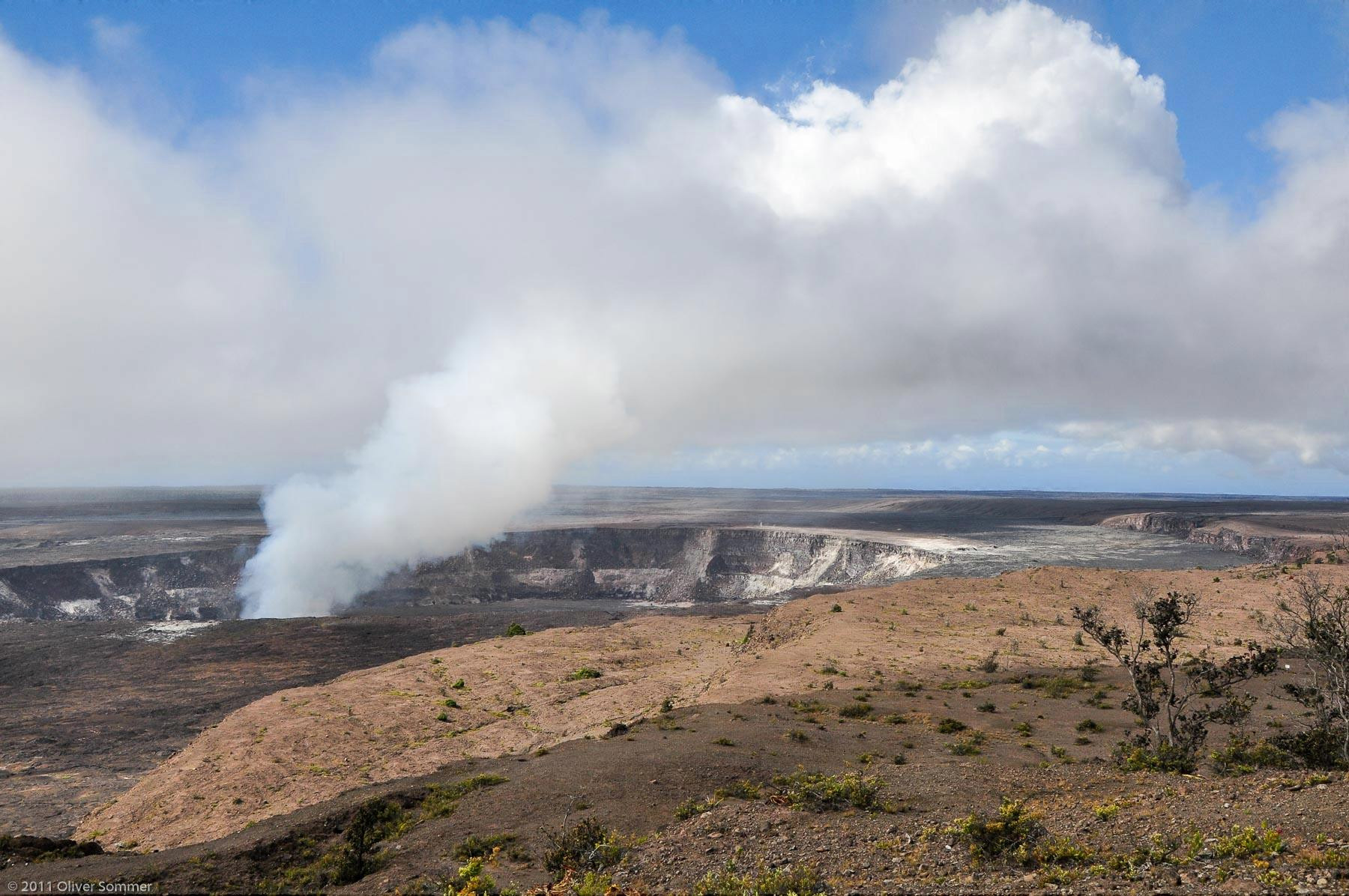 Gas Hawaii Kilauea Volcanoes Vapor