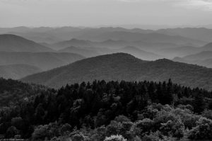 fog Smoky Mountains Landscape forest