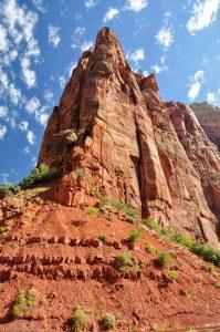 Cliff Weeping Rock Zion Utah