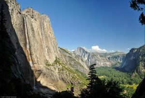 Water Yosemite Falls National Park