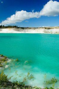 Denmark Emerald Lake Limestone Turquoise Water