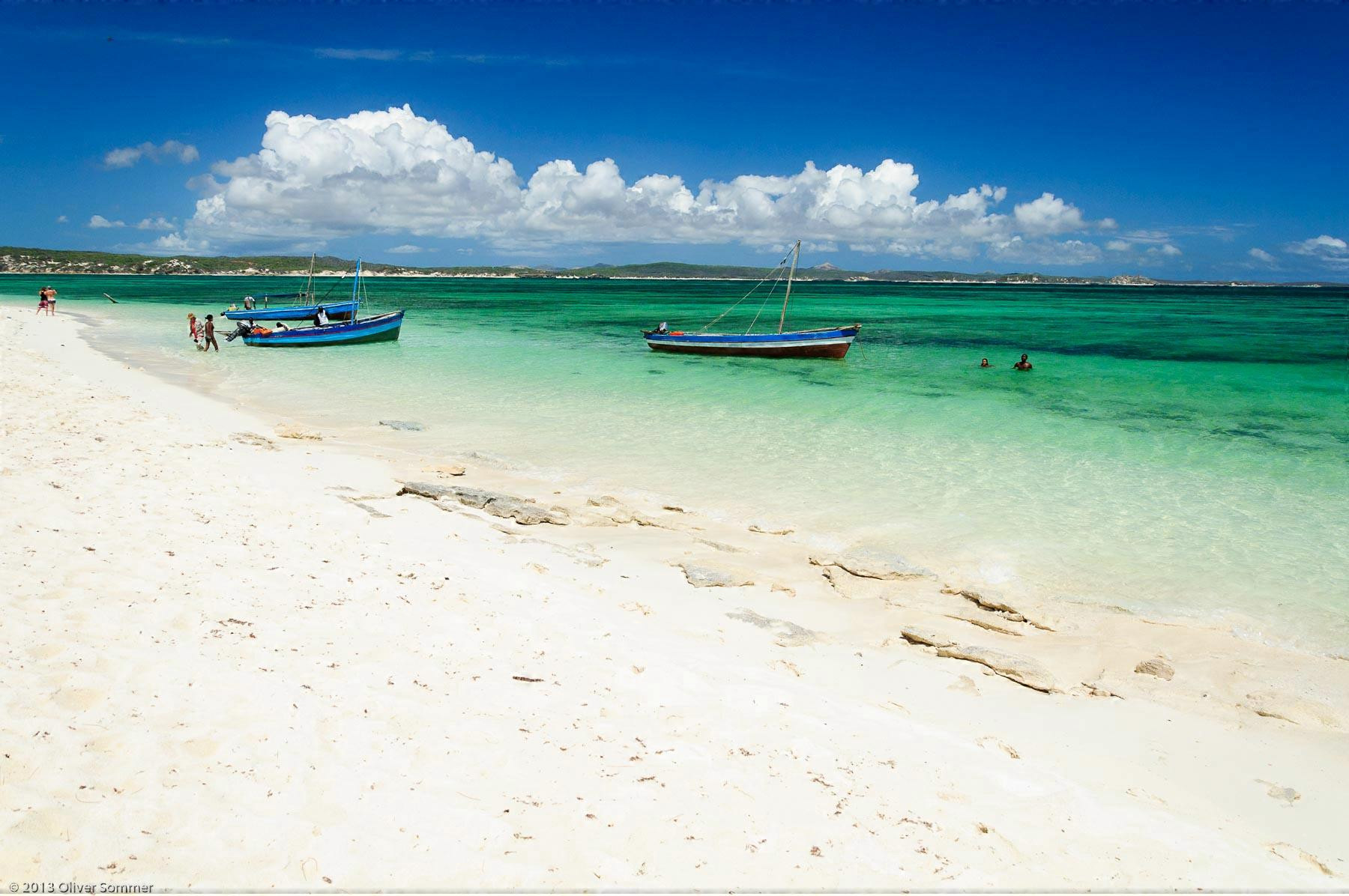 Beach Emerald Bay Madagascar Sand Tropical
