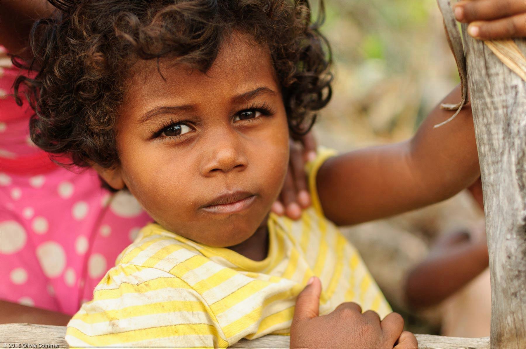 Girl Madagascar People Portrait