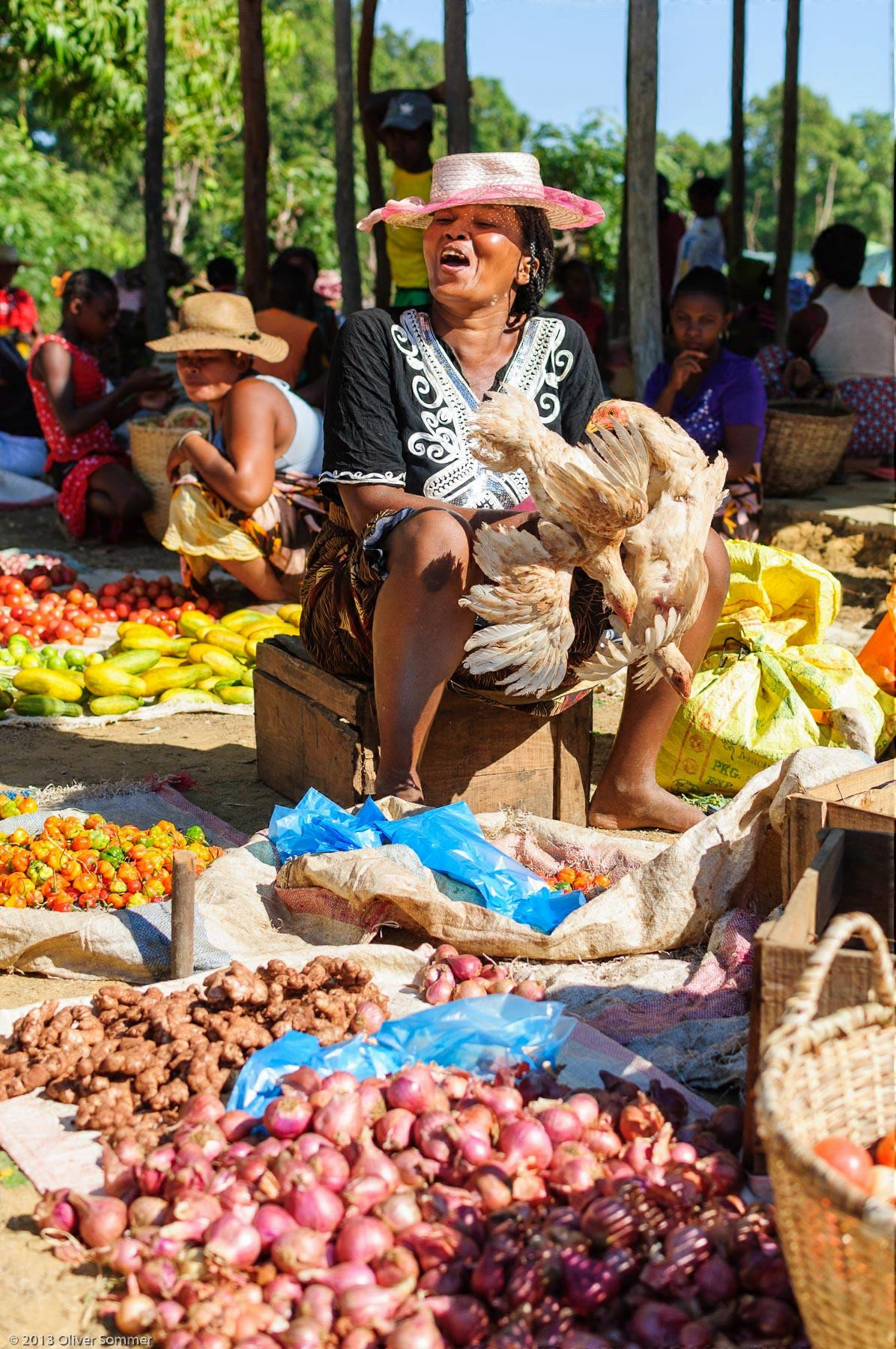 Additive, Africa, African, Beramanja, Black, Chicken, Chili, Civilization, Condiment, Cultural Site, Culture, Customs, Female, Food, Ginger Root, Greens, Happy, Hat, Jalapeno, Laugh, Laughing, Lifestyle, Madagascar, Malagasy, Market, Meat, Nutriment, Nutrition, Onion, Onions, People, Peppers, Person, Portrait, Sales person, Seasoning, Seasonings, Smile, Smiling, Society, Spice, Spices, Tomato, Tomatoes, Tour, Tourism, Traditional, Travel, Trip, Vegetable, Vegetables, Woman, Women, _Other, additives, art, condiments, dIANA Region, destination, excursion, grin, human, journey, legume, madagasikara, malagasy, northern Madagascar, nutriments, selling, tours