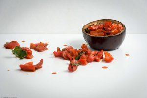 Bell Pepper, Cilantro, Eggplant
