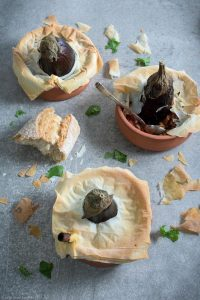 Cilantro, Crust, Eggplant, Filo Bread, Yufka
